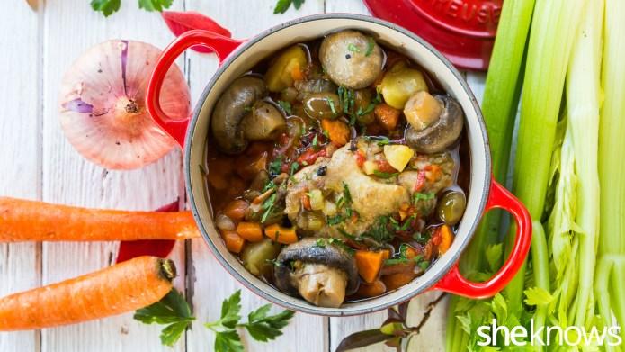 One-Pot Wonder: Chicken with mushrooms in