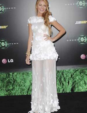 Blake Lively's Green Lantern premiere look: