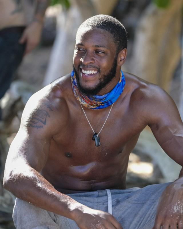Alan Ball on Heroes tribe Survivor: Heroes Vs. Healers Vs. Hustlers season 35 CBS