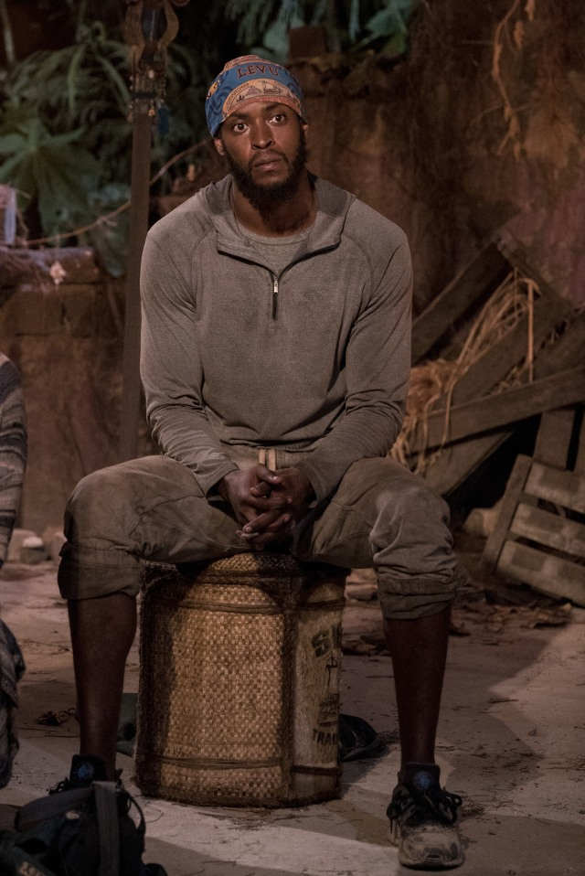 Alan Ball at Tribal Council Survivor: Heroes Vs. Healers Vs. Hustlers season 35 CBS