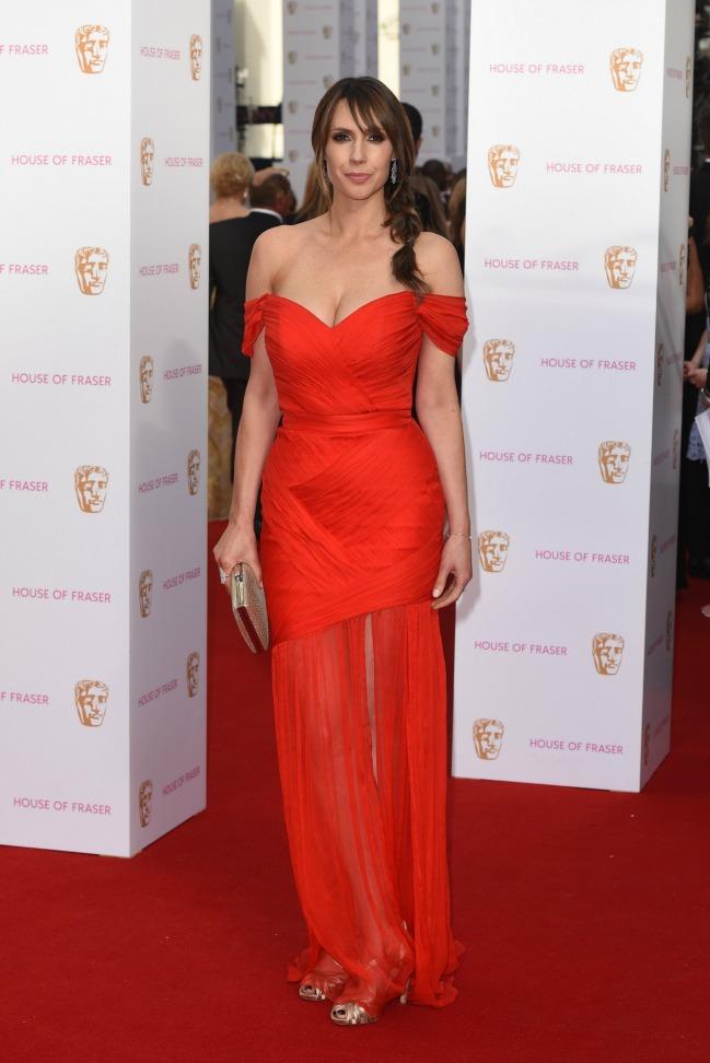 Alex Jones at the TV BAFTAS 2015