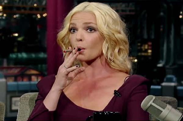 Katherine Heigl Smoke Stick