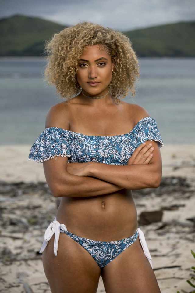 Ali Elliott cast photo for Survivor: Heroes Vs. Healers Vs. Hustlers