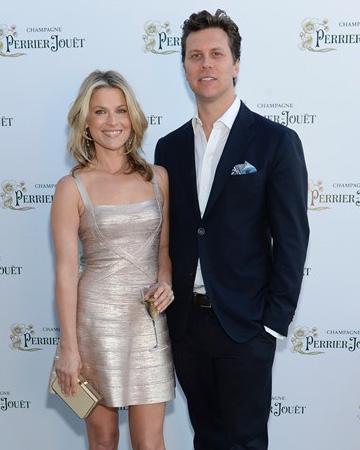 Ali Larter and husband