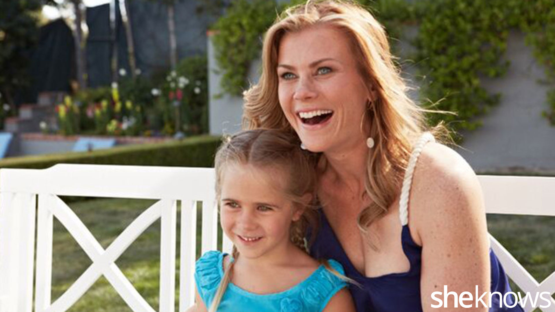 Alison Sweeney Family Pictures alison sweeney: i refuse to let my film schedule keep me