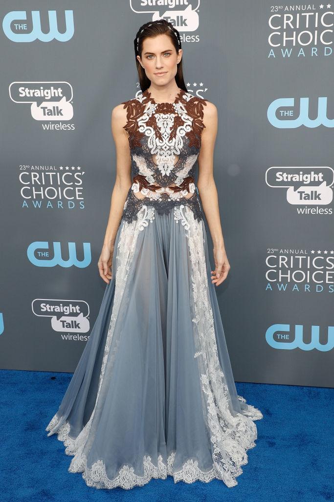 Allison Williams at the Critics Choice Awards
