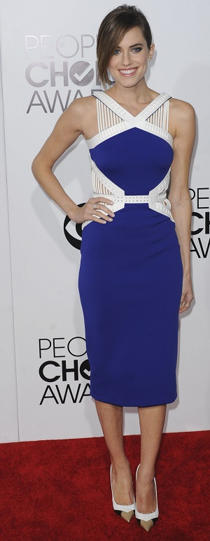 Allison Williams at the 2014 People's Choice Awards