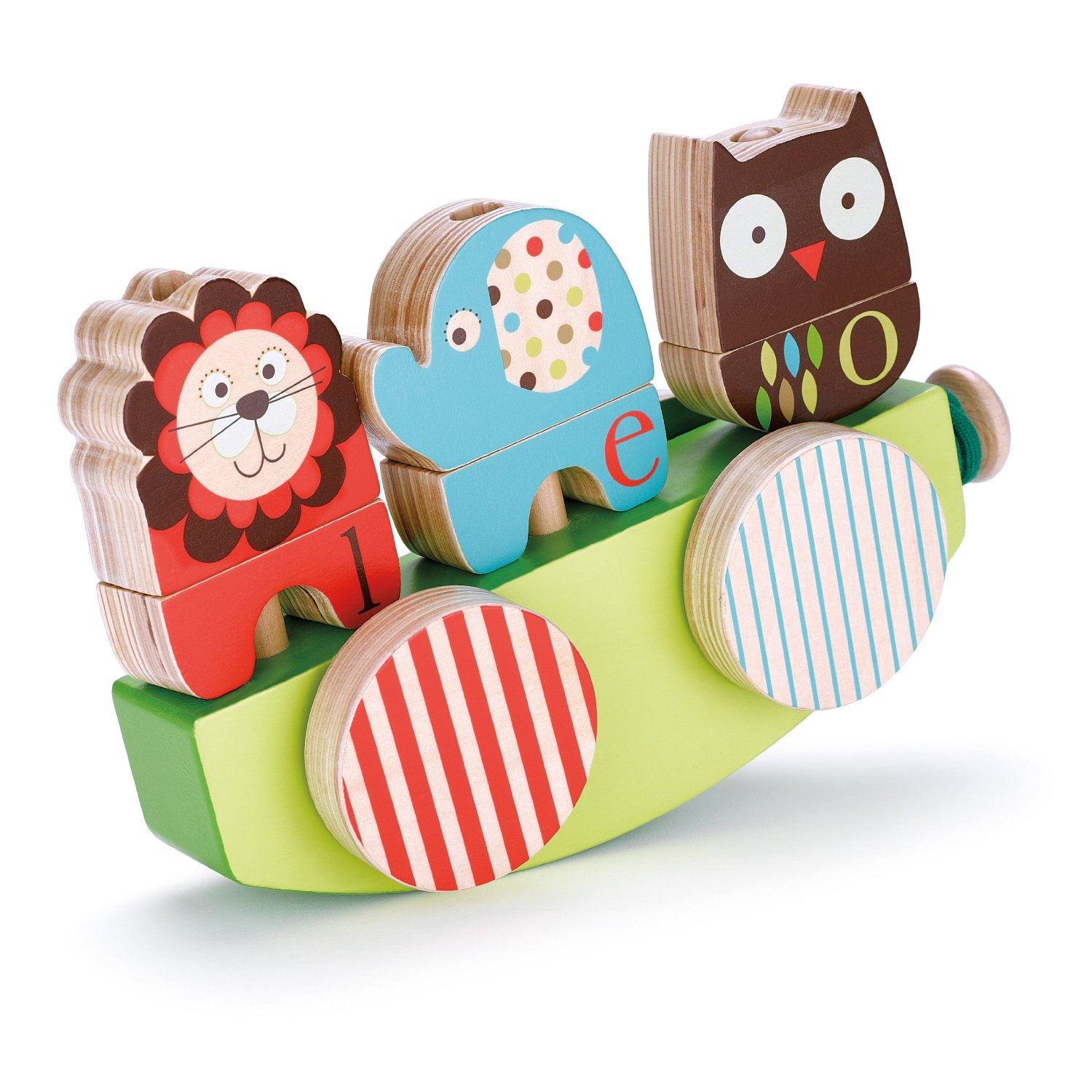 Alphabet Zoo Rock and Stack Toy