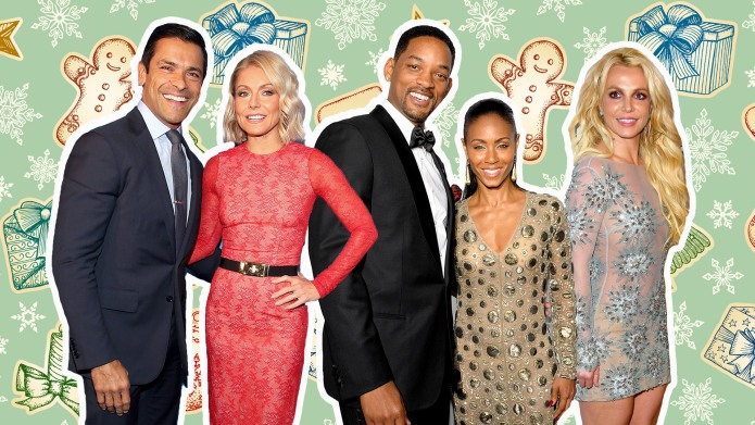 How Your Favorite Celebrities Celebrated Christmas