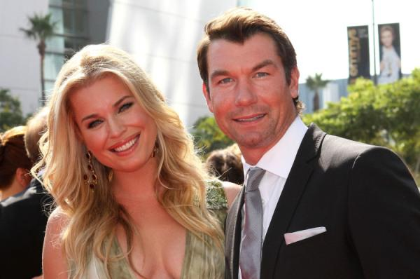 Jerry O'Connell and Rebecca Romijn get