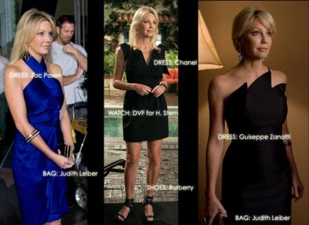 Amanda (Heather Locklear) and her wonderful wardrobe!