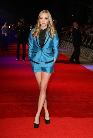 Amanda Seyfried at In Time Premiere