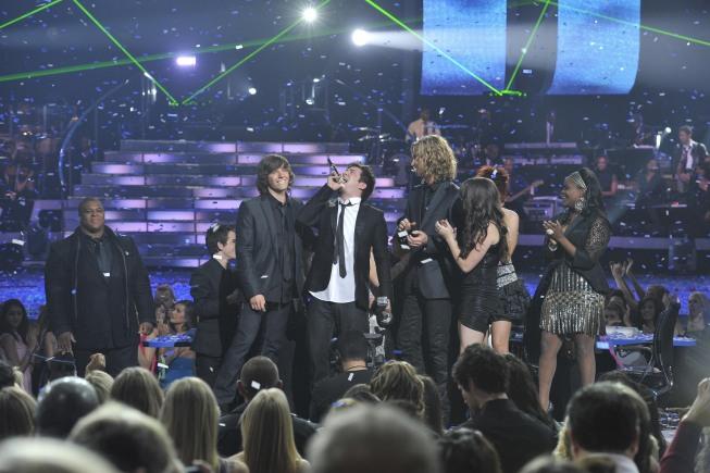 The American Idol finale