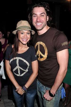 American Idol couple Ace Young and Diana DeGarmo