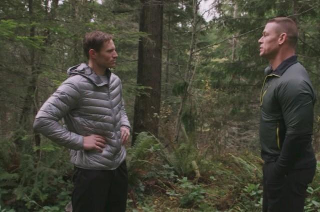 Chris and John Cena