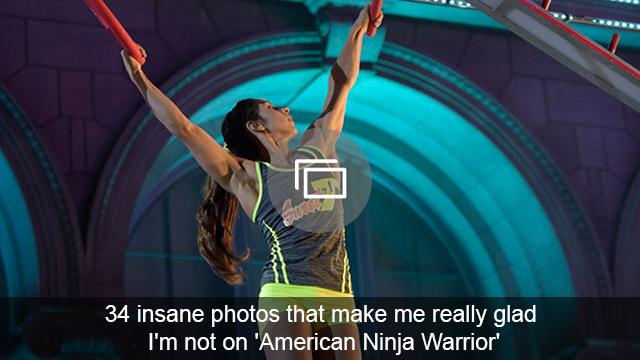 american ninja warrior slideshow