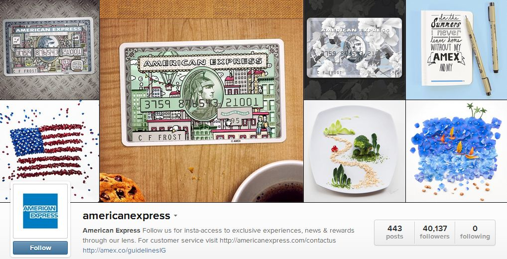 Amex's instagram | Sheknows.ca