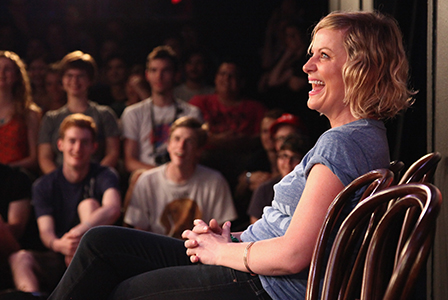 Amy Poehler at upright citizen's brigade | Sheknows.com