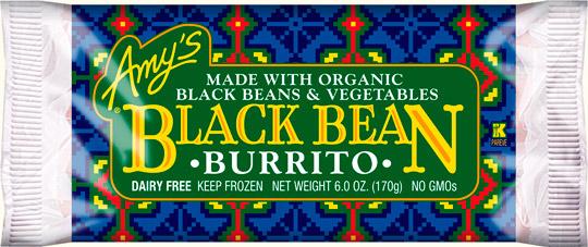 Amy's Organic Burrito's