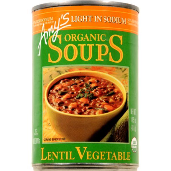 Amy's Organic Soups Lentil Vegetable Soup