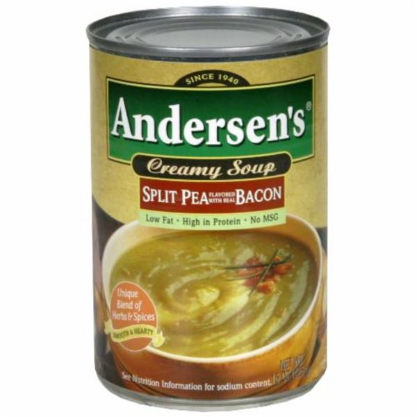 Anderson's Creamy Split Pea With Bacon Soup