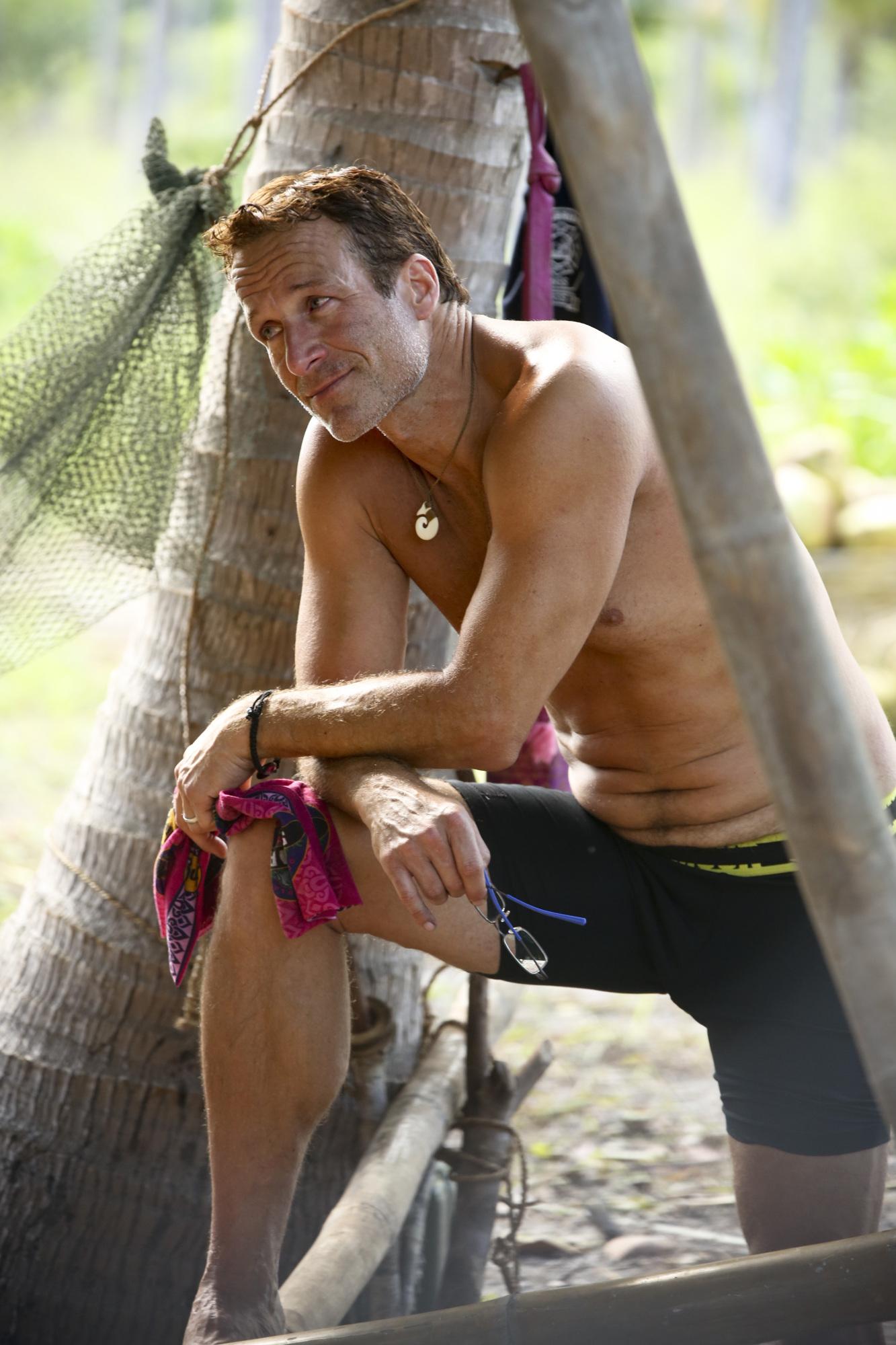 Andrew Savage on Survivor: Second Chance