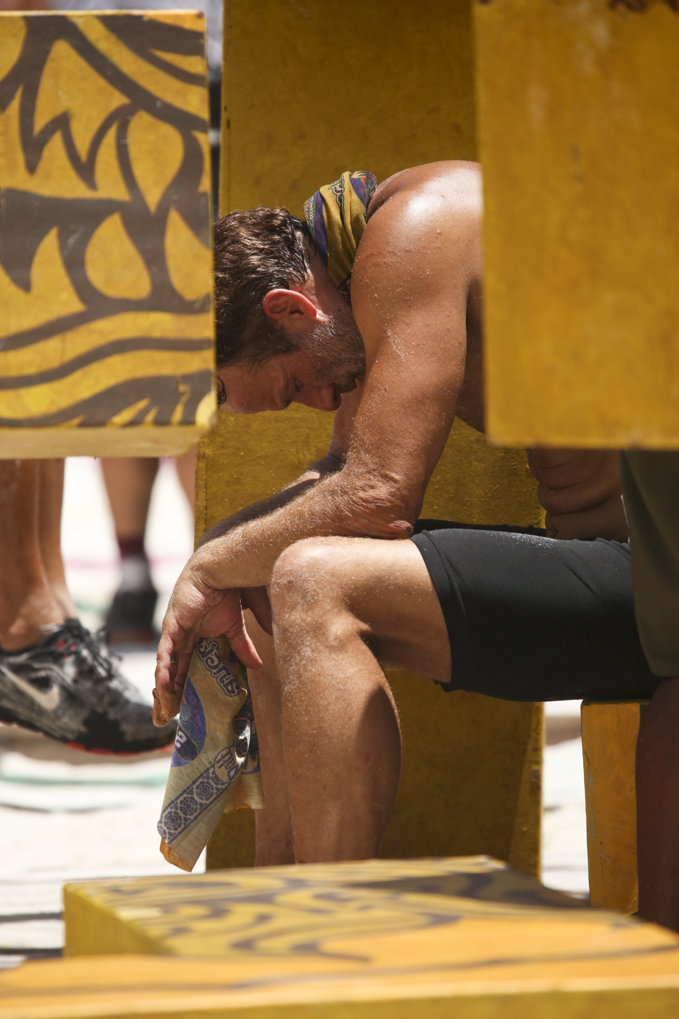 Andrew Savage exhausted after Immunity challenge on Survivor: Second Chance