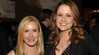 Photo of Angela Kinsey and Jenna