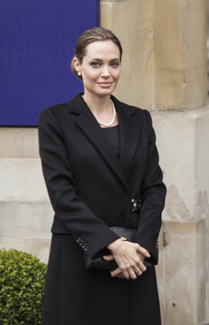 Angelina Jolie in Europe