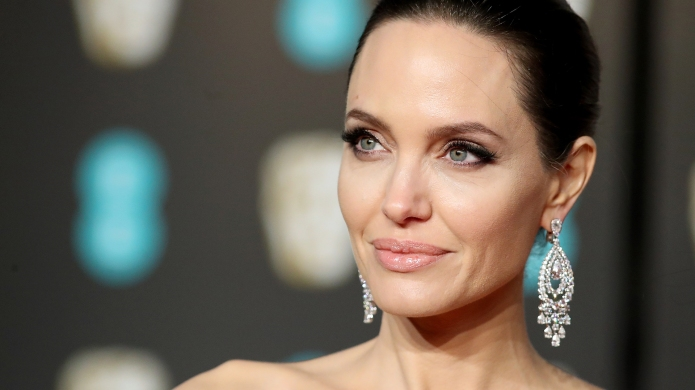 Angelina Jolie attends the 2018 EE
