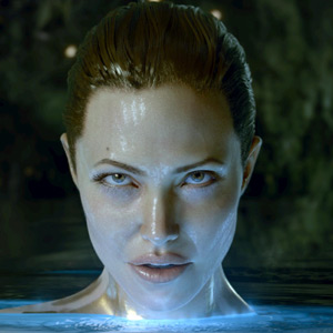 Angelina Jolie through the eyes of Michael Lantieri