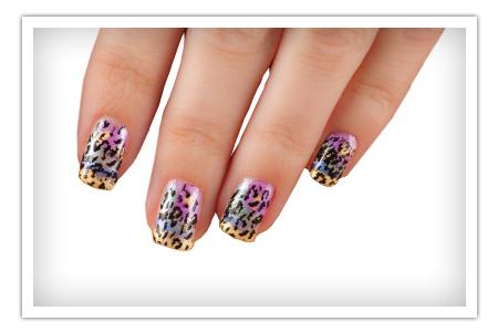 Cheetah Nail Polish
