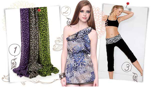 long flowing dresses and animal prints are on trend for summertime
