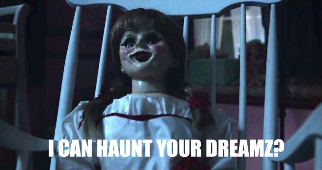 Annabelle movie doll