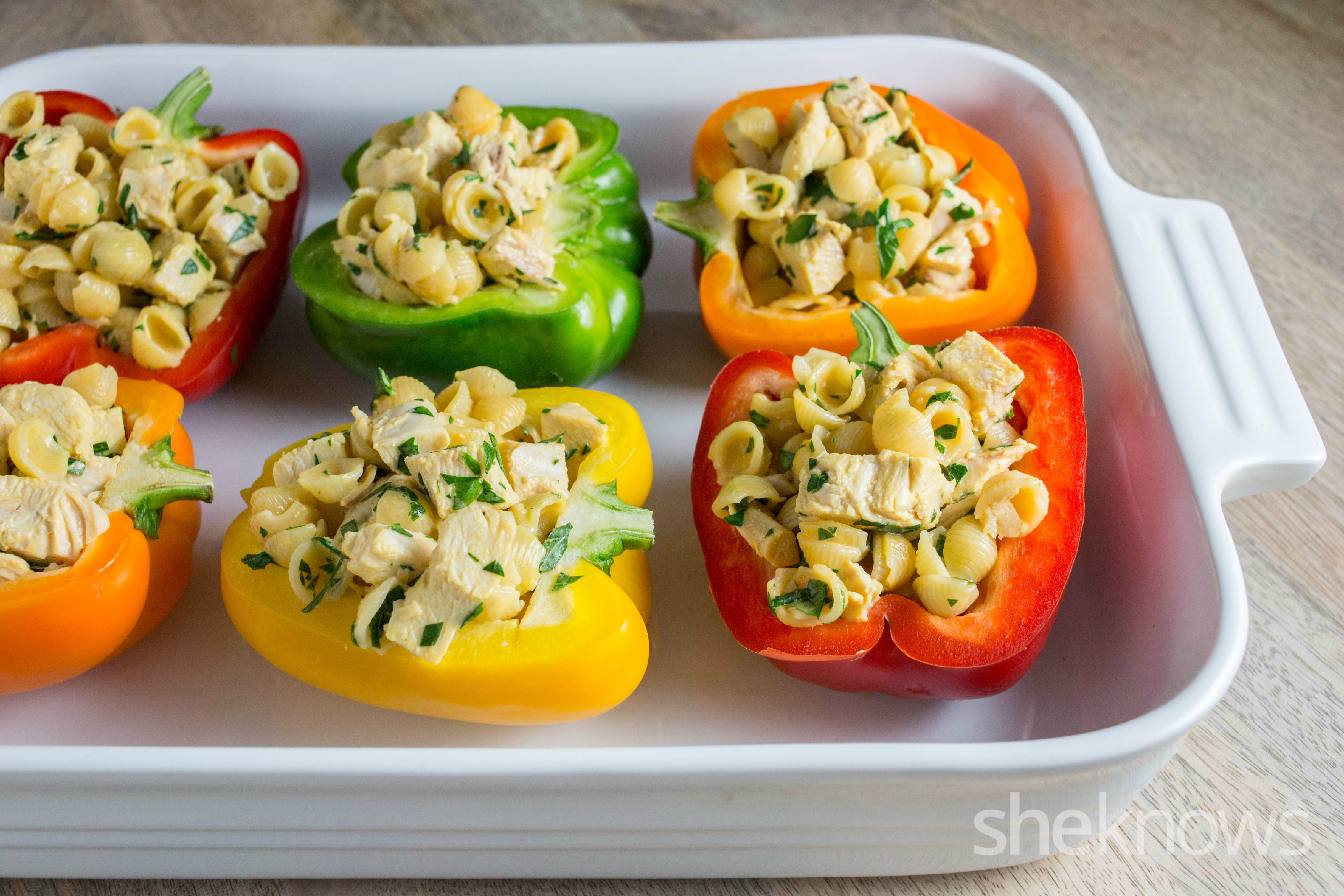 Annie's stuffed peppers