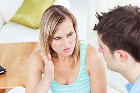 nagging woman