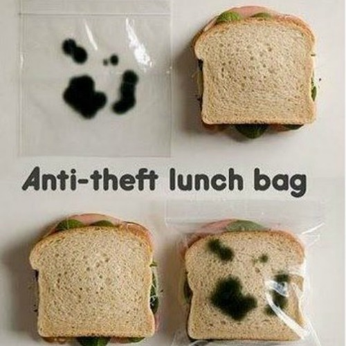 April fool's day lunch gag