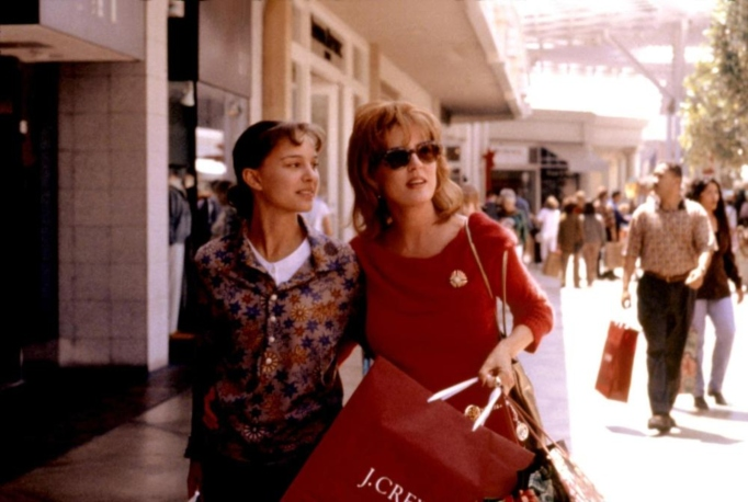 Natalie Portman and Susan Sarandon in the movie 'Anywhere But Here.'
