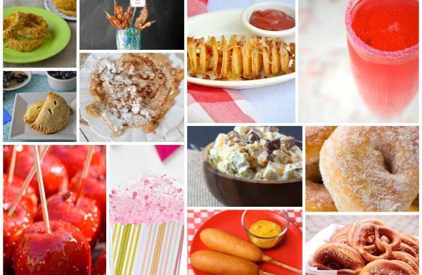 12 State fair foods