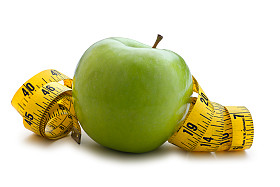 Apple and tape measure | Sheknows.com