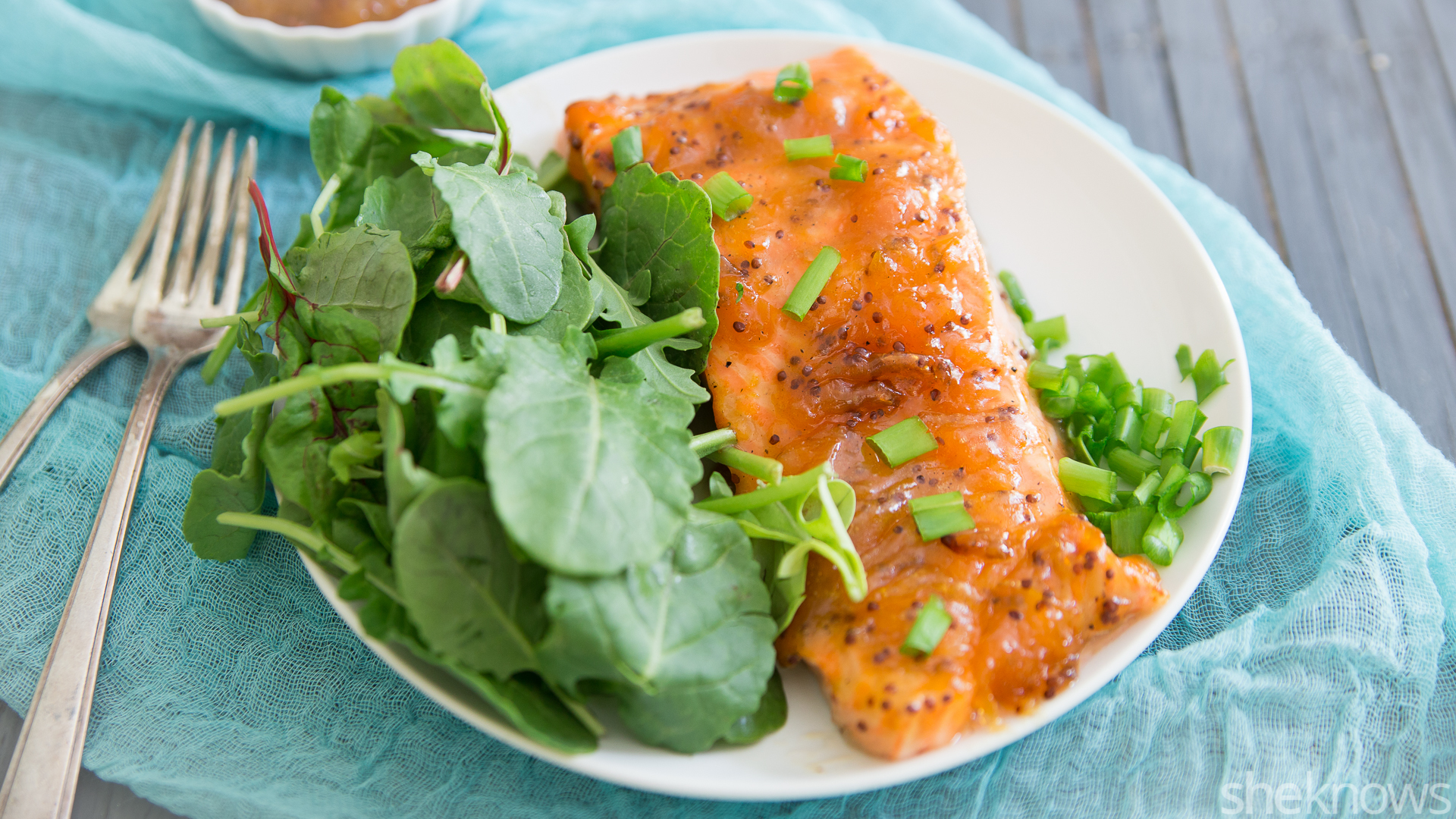 d41b970a76a7 Dijon-apricot glazed salmon in 15 minutes flat – SheKnows