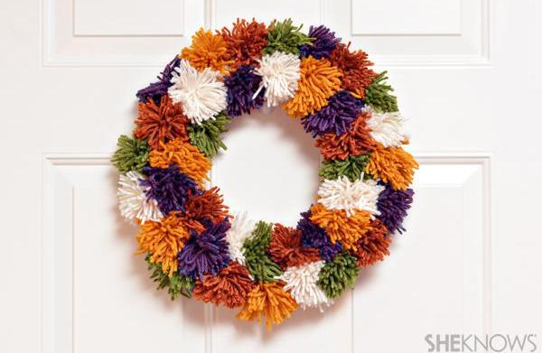 Unique fall wreaths kids can make
