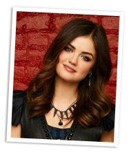 Aria from Pretty Little Liars
