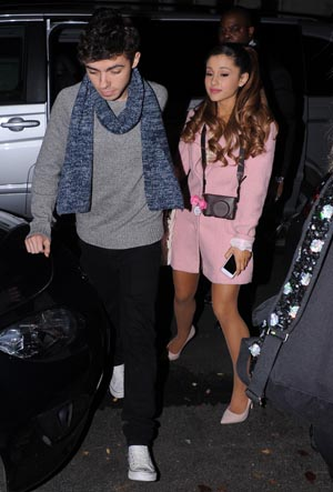 Ariana Grande Nathan Sykes