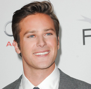 Armie Hammer at the premiere for J. Edgar