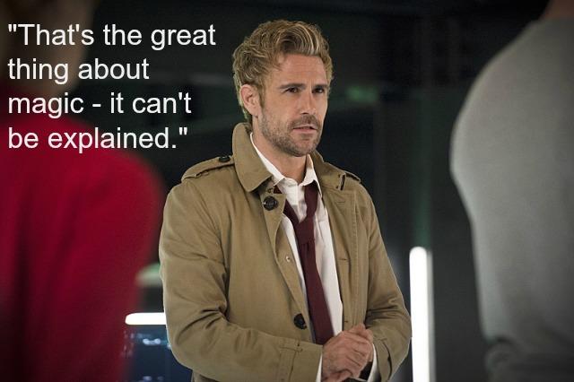 "Arrow ""Haunted"" - Constantine"
