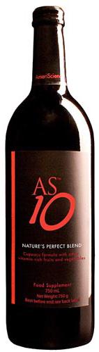 AS10 Nasa Space drink