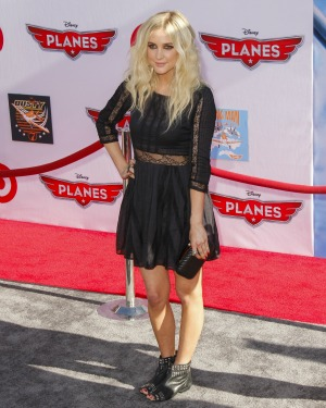 Ashlee Simpson was nervous to meet Diana Ross