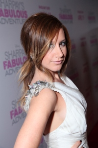 Ashley Tisdale at the Sharpay premiere