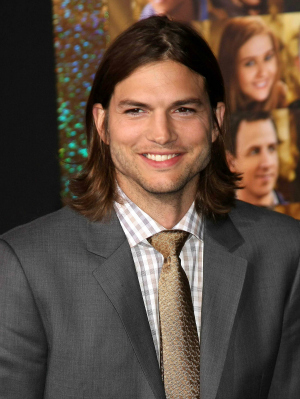 Ashton Kutcher at the Premiere of New Year's Eve